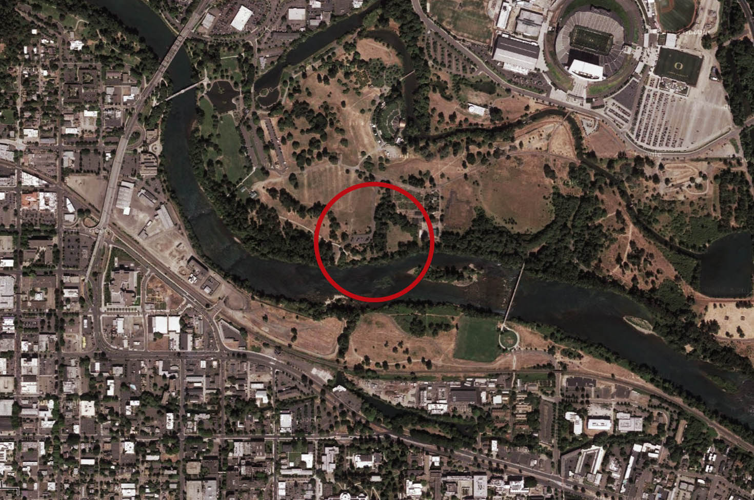 PNW Getty_Satelite_with circle